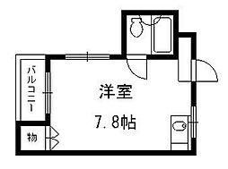 京都府京都市伏見区銀座町2丁目の賃貸マンションの間取り