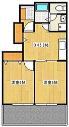 ソナタMII[1階]の間取り