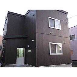 北海道札幌市北区あいの里一条3丁目の賃貸アパートの外観