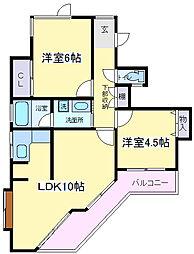 TMビル[2階]の間取り