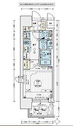 名古屋市営鶴舞線 大須観音駅 徒歩5分の賃貸マンション 3階1Kの間取り