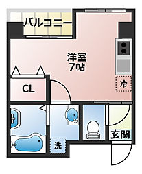 (仮称)船橋市宮本3丁目共同住宅[302号室]の間取り