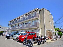 奈良県奈良市三碓2丁目の賃貸アパートの外観