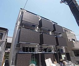 京都府京都市右京区太秦一ノ井町の賃貸アパートの外観