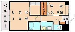 仮)上府北2丁目アパート[2階]の間取り