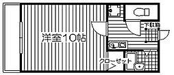 SHIZUKAビル[202号室]の間取り