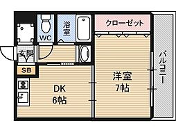 シェリール木村Part5[2階]の間取り
