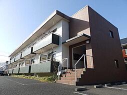 東京都日野市南平7丁目の賃貸マンションの外観