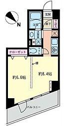 センチュリー新横浜いちょう通り[606号室]の間取り