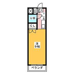 リアナ一宮弐番館[3階]の間取り