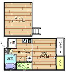 NON-STYLE[4階]の間取り