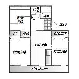 第2三宅ビル[5階]の間取り