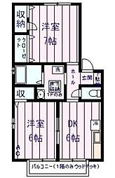 グランドメゾン大澤[2階]の間取り