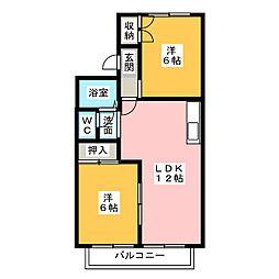 タウンハウス愛野公園 E棟[1階]の間取り