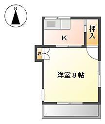 船山荘[2階]の間取り