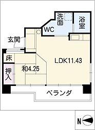 UD翔 羽島[5階]の間取り
