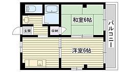 第6渡部ビル[103号室]の間取り