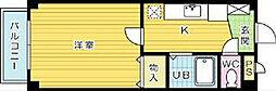ソレーユ戸畑[201号室]の間取り