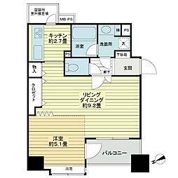 ライオンズマンション浅草橋[7階]の間取り