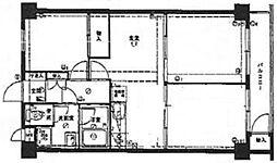 GSハイム蓮根[4階]の間取り