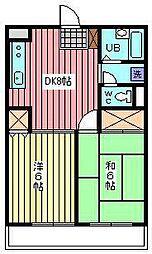 メゾンT−III[102号室]の間取り