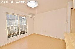 サンフレイムYABEII A棟[1階]の外観