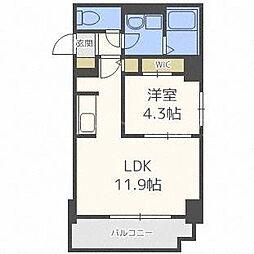 F013[4階]の間取り