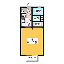 小沢ハイツ[2階]の間取り