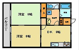 平野ビル8[302号室]の間取り