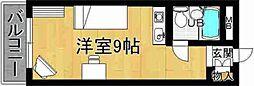 奈良県奈良市水門町の賃貸マンションの間取り
