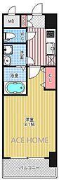 レオンコンフォート本町東I[304号室号室]の間取り