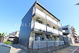 東京都調布市深大寺北町1丁目の賃貸マンションの外観