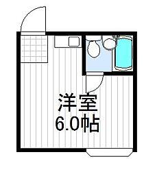 大阪府大阪市阿倍野区天王寺町南3丁目の賃貸アパートの間取り