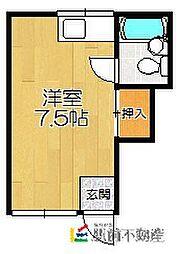 アパートメント12[206号室]の間取り