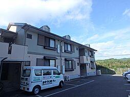 鹿児島県鹿児島市自由ヶ丘の賃貸アパートの外観