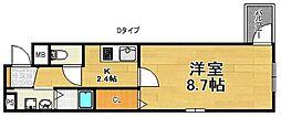 Felicie Yu[3階]の間取り