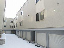 北海道札幌市白石区中央二条1丁目の賃貸アパートの外観