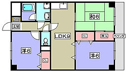 グレイス・ニシムラ[3階]の間取り