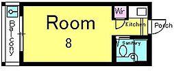 グランパイン[2階]の間取り