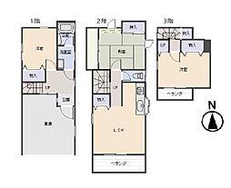 [一戸建] 東京都杉並区善福寺2丁目 の賃貸【/】の間取り