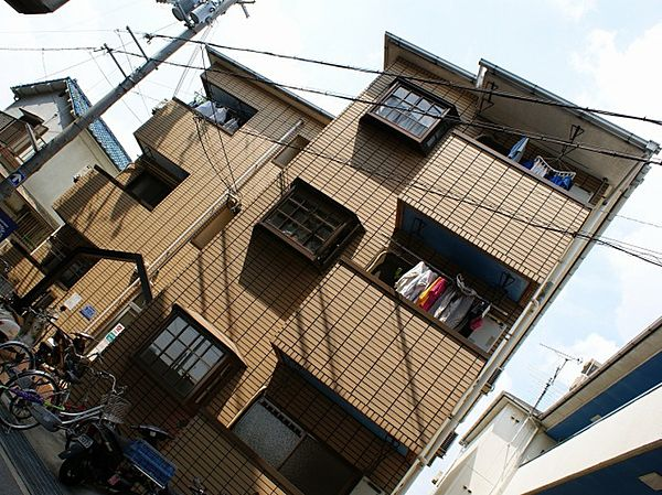 YTSマンション碓井[3階]の外観