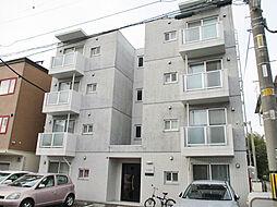北海道札幌市東区北二十一条東14丁目の賃貸マンションの外観