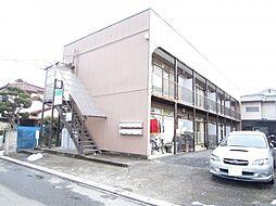 コーポアサウミ[2階]の外観