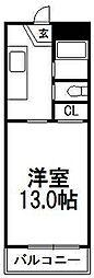 3R・s[1階]の間取り