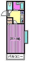 ハイツKCH[2階]の間取り