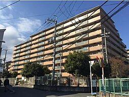 大阪府茨木市穂積台の賃貸マンションの外観