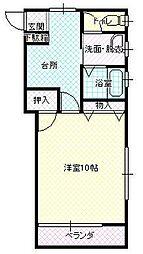 メゾン桝形II[102号室号室]の間取り