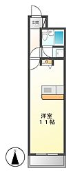 アビタシオン泉[3階]の間取り