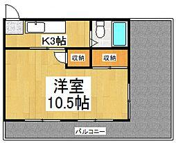 オレンジコーポ[3階]の間取り