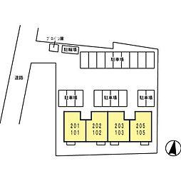 ロイヤルガーデン藤川[105号室]の外観